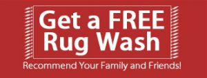 free rug wash