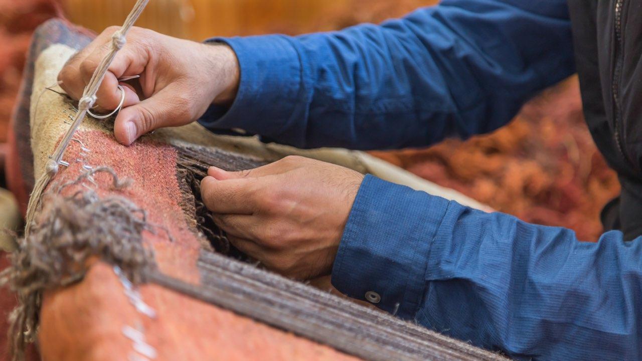 restoring an oriental rug